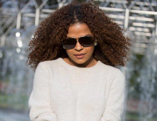 Victoria Latu spotting the latest glasses trend
