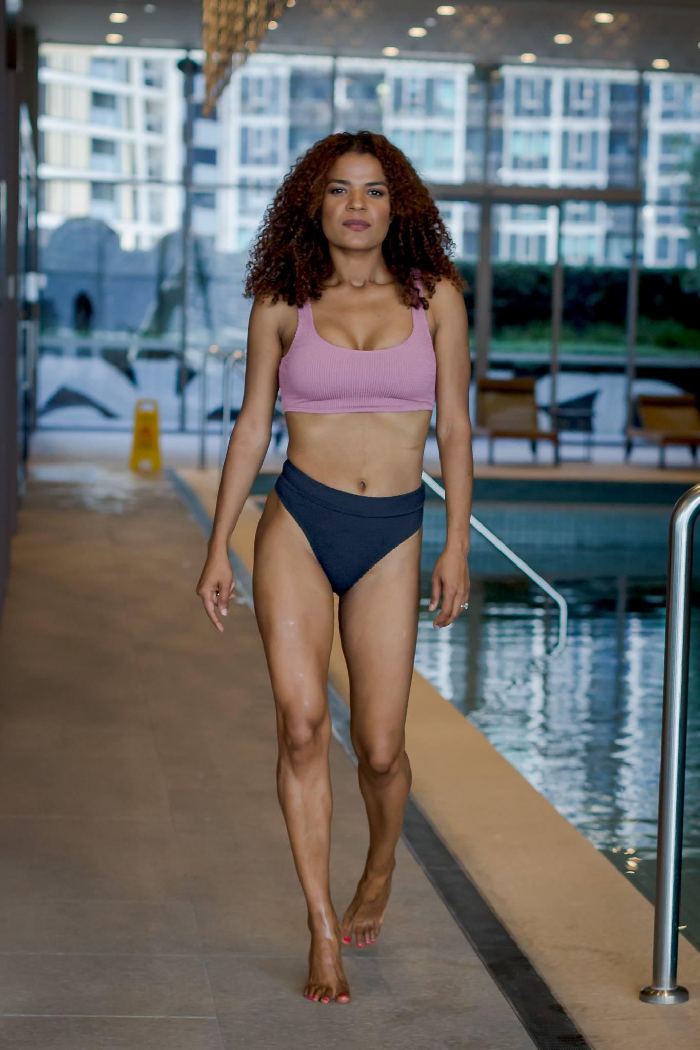 Victoria Latu, Talking flattering Swimwear