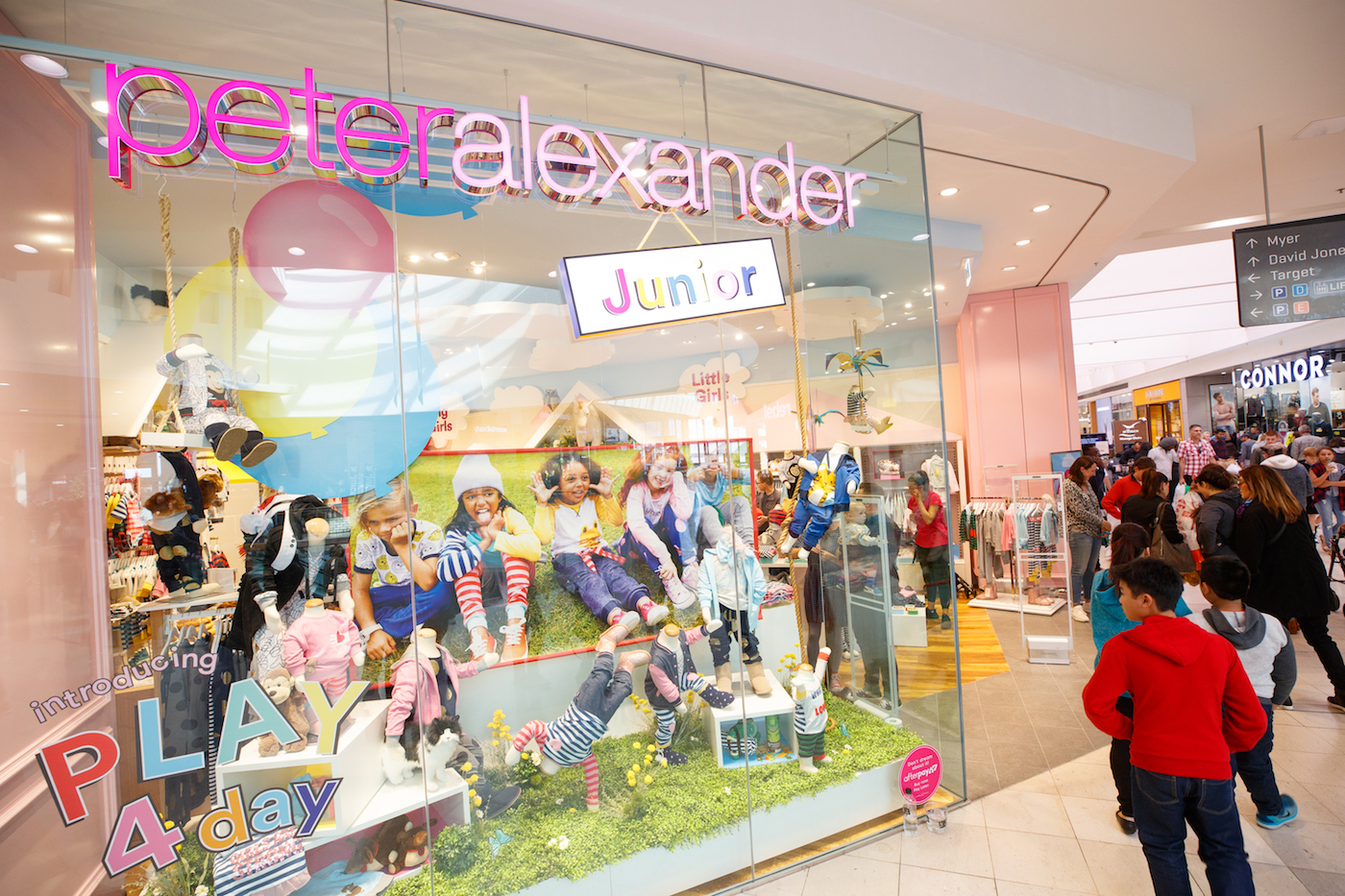 Talking Shop Peter Alexander Junior HIghpoint