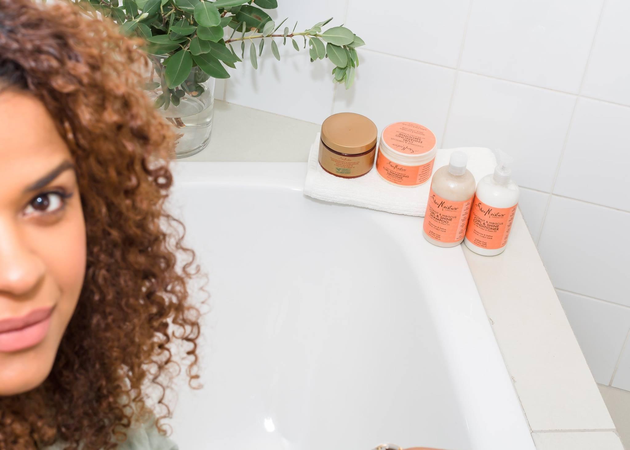Naturally curly Victoria Latu shea moisture