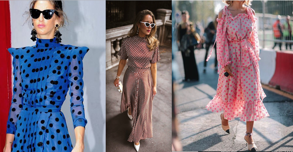 a great summer dress polka dots