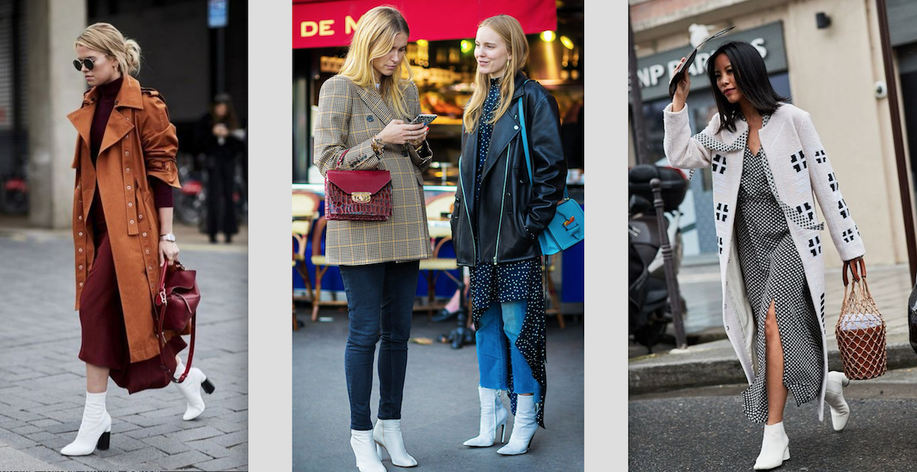 How to wear white boots for every season