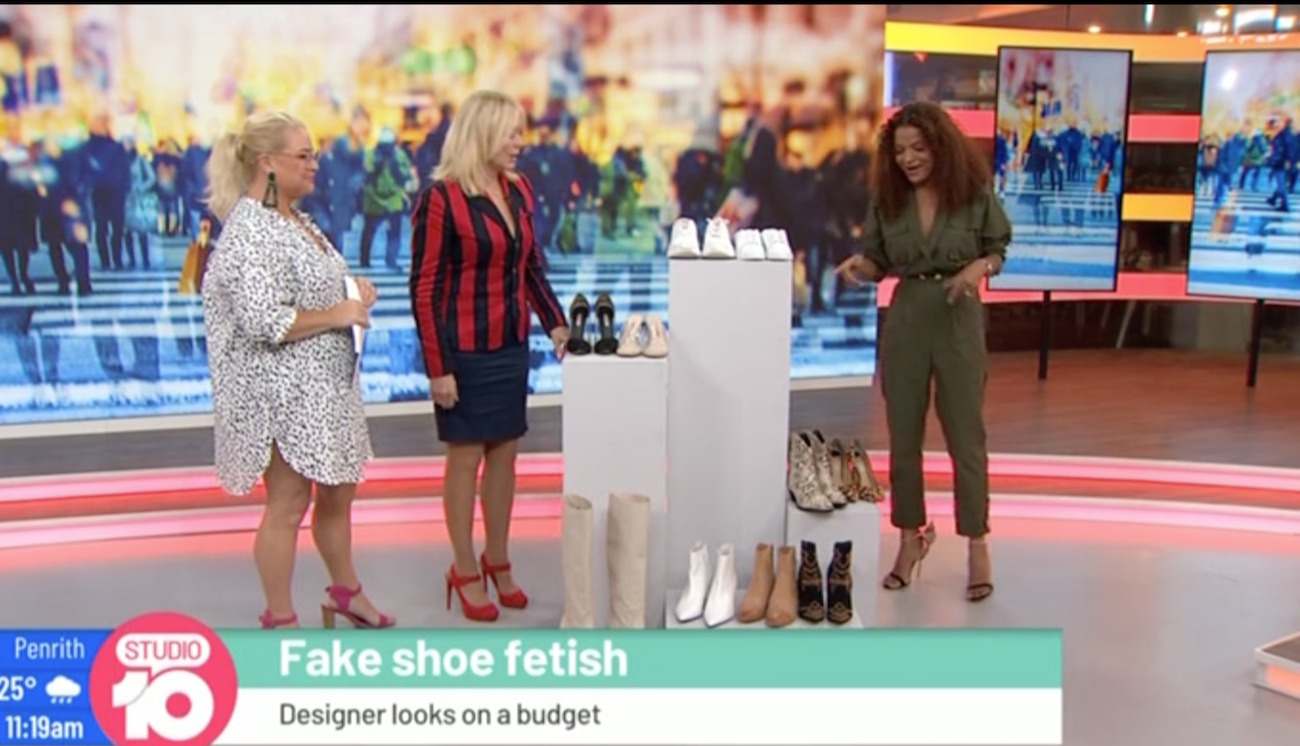 Studio 10 Victoria Latu stylish shoes on a budget