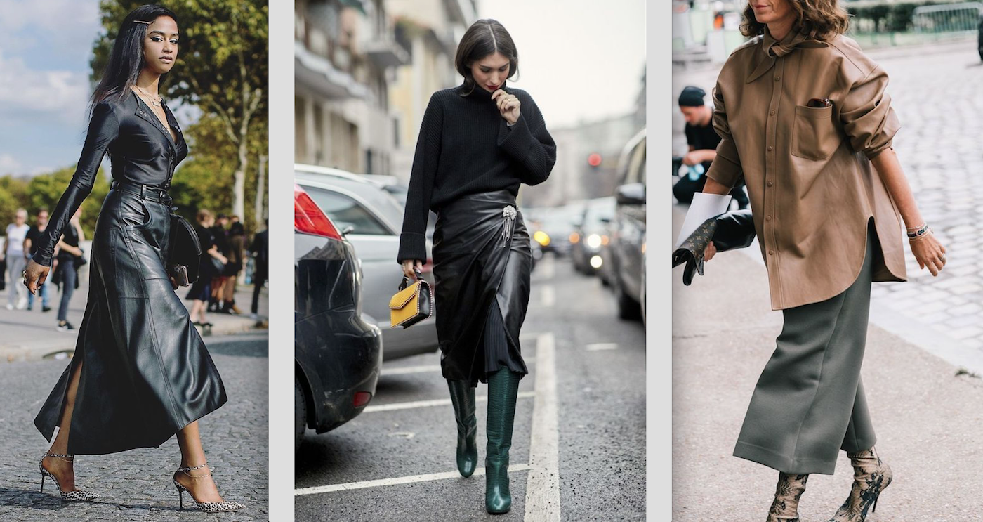 how to wear and style leather