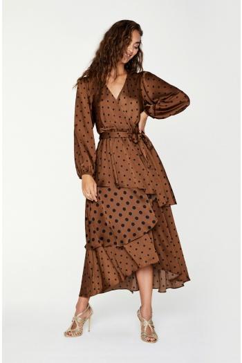 Sheike polka dot dress