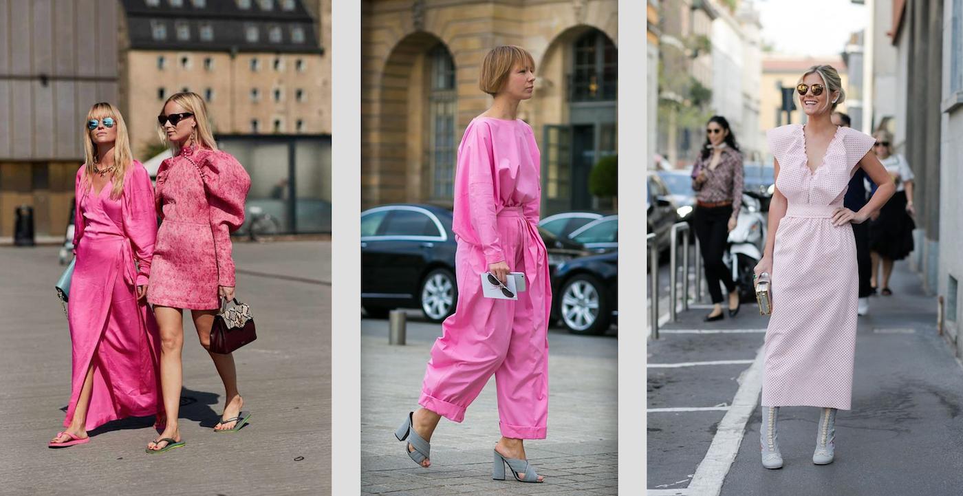 Bubble gum pink trend